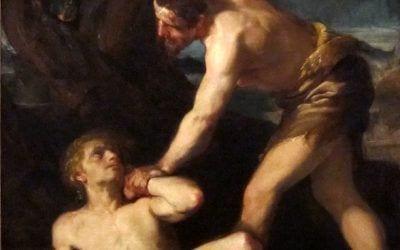 Caín y Abel: La eterna historia de celos entre hermanos