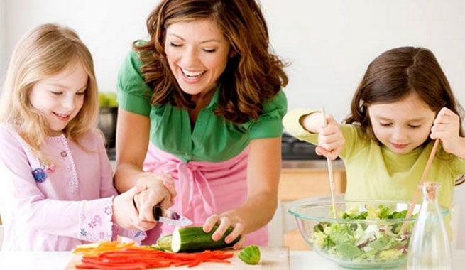 Alimentación sana para la familia