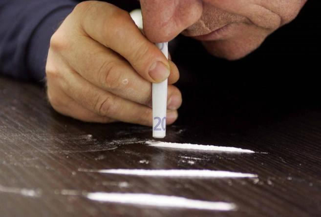 Consumo de cocaina por los jovenes