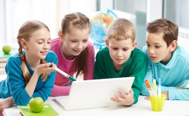 Educación primaria en la escuela