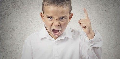 Enfado infantil continuo