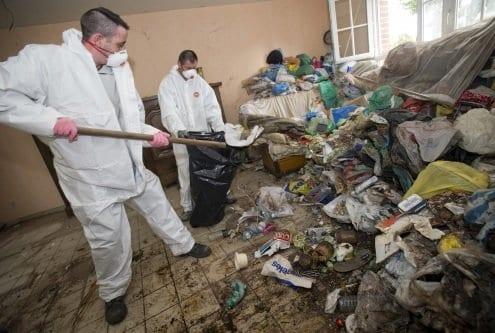 Limpieza de casa con el síndrome de Diógenes
